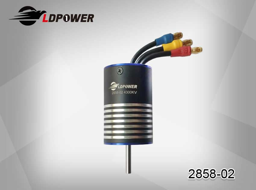 LDPOWER 2858-02-4000KV  4 pole sensorless  Inrunner brushless motor for 1:14/1:16  RC car