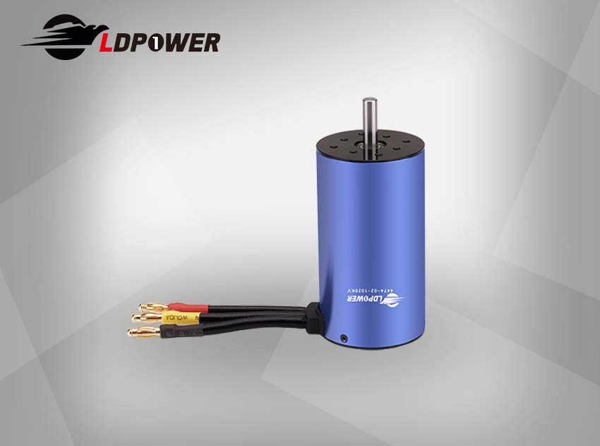 LDPOWER 4474-02-1020KV  1 pole sensorless  Inrunner brushless motor for 1:8/1:5  RC car