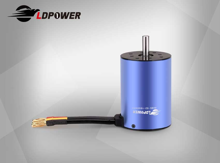 LDPOWER 4465-02-1950KV  1 pole sensorless  Inrunner brushless motor for 1:8/1:5  RC car