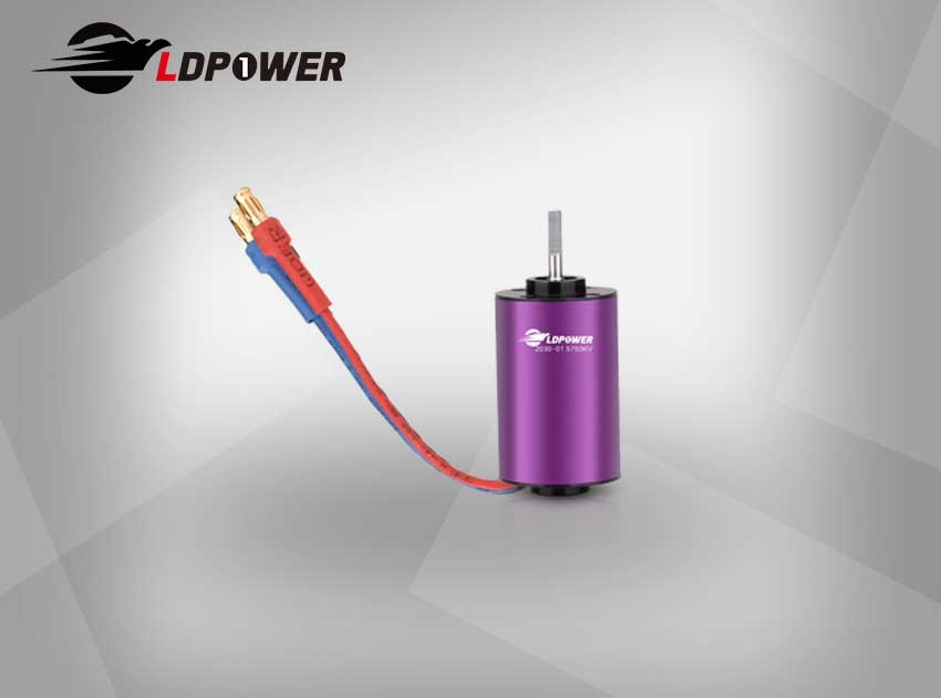 LDPOWER 2030-01-5750KV  2 pole sensorless  Inrunner brushless motor for 1:18/1:24/1:28 RC car