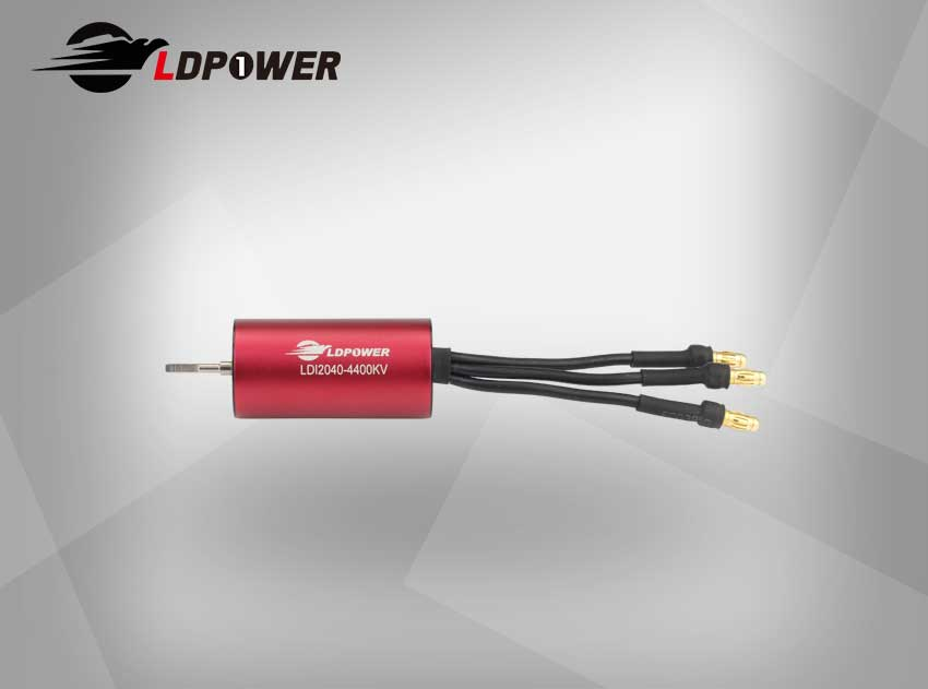 LDPOWER 2040-01-4400KV  4 pole sensorless  Inrunner brushless motor for 1:14/1:16  RC car