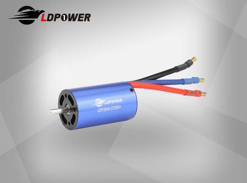LDPOWER 2848-02-3750KV  4 pole sensorless  Inrunner brushless motor for 1:14/1:16  RC car