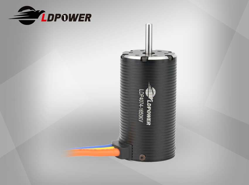 LDPOWER 4074-1650KV  4 pole sensorless  Inrunner brushless motor for 1:8 RC car