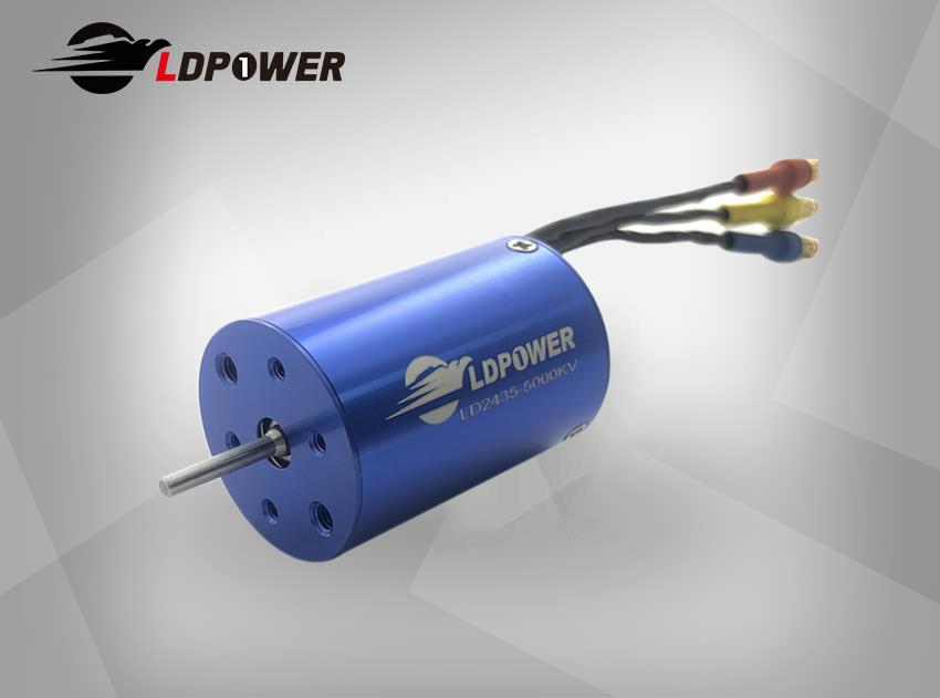 LDPOWER 2435-5000KV 4极无刷内转电机 1:14/1:16/1:18遥控车用